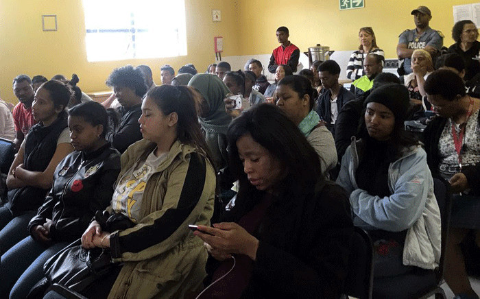 Several community members attended a a youth against crime and socio-economic event in Bonteheuwel on 16 October 2018. Picture: Kaylynn Palm/EWN