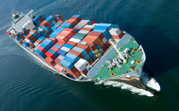 Cargo ship. Picture: Supplied