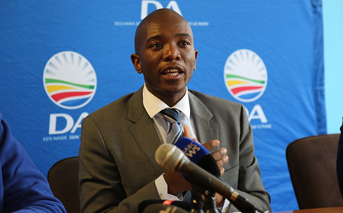 FILE: Democratic Alliance leader Mmusi Maimane. Picture: EWN.