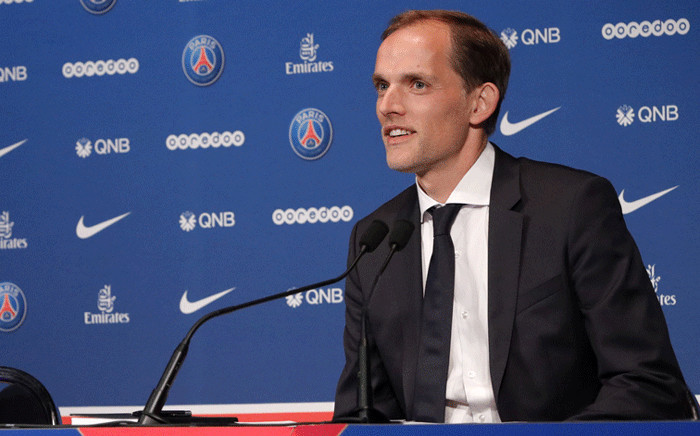 'A very good performance, unbelievable effort. I could feel we totally wanted it.' Chelsea manager Thomas Tuchel is pictured at a press conference in 2020. Picture: psg.fr