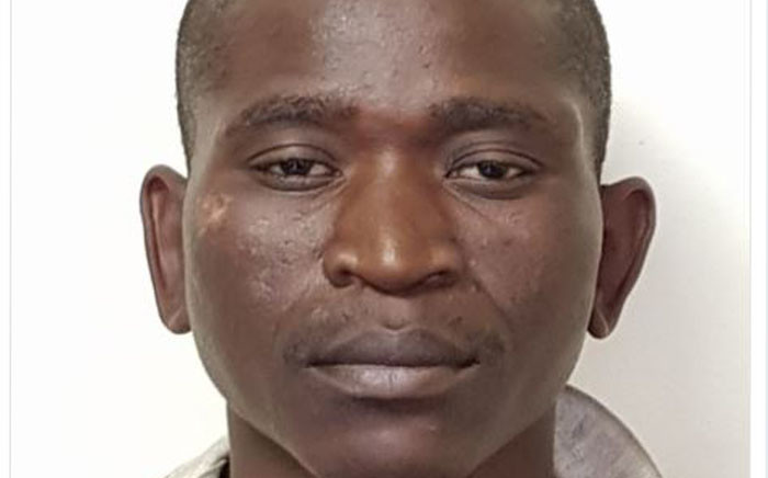 Petrus Moyo was arrested for killing a farmer and injuring his wife during a farm attack in September. Picture: Twitter/@crimeairnetwork