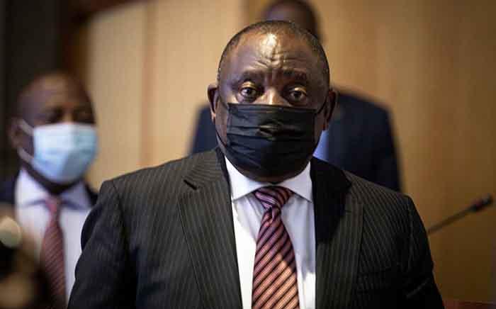 President Cyril Ramaphosa. Picture: Xanderleigh Dookey Makhaza/Eyewitness News
