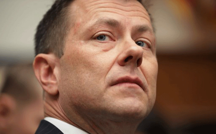FILE: FBI agent Peter Strzok, a key figure in the investigation of Russian influence in the 2016 election, has been fired. Picture: AFP.