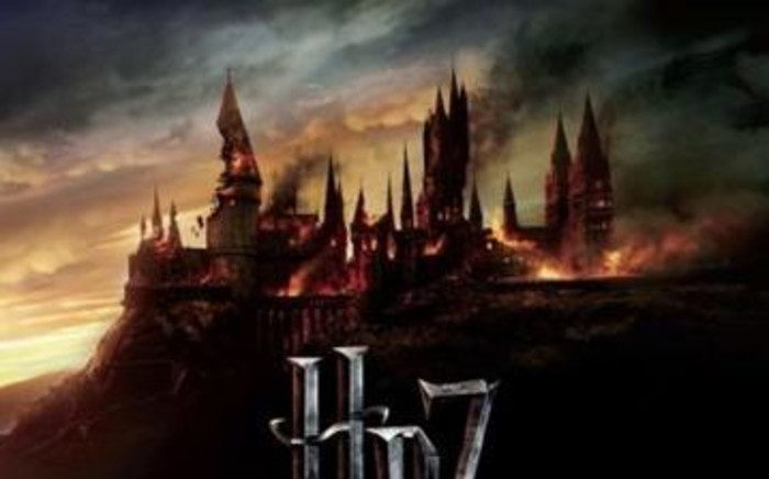 'Harry Potter and The Deathly Hallows' movie poster. Picture: AFP Relaxnews