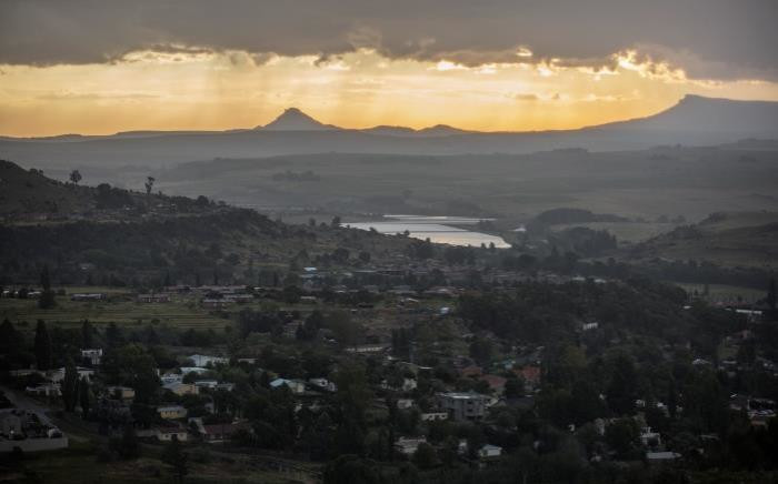 A general view of Lesotho's capital Maseru. Picture: AFP.