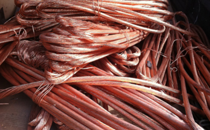 Copper cables.