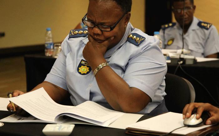 FILE: Gauteng Police Commissioner Major-General Deliwe de Lange. Picture: @GPLegislature/Twitter