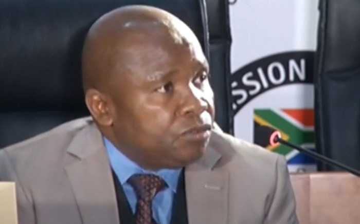 A YouTube screengrab of former Finance Minister Des van Rooyen testifying at the state capture commission of inquiry in Johannesburg on 11 August 2020. Picture: SABC/YouTube