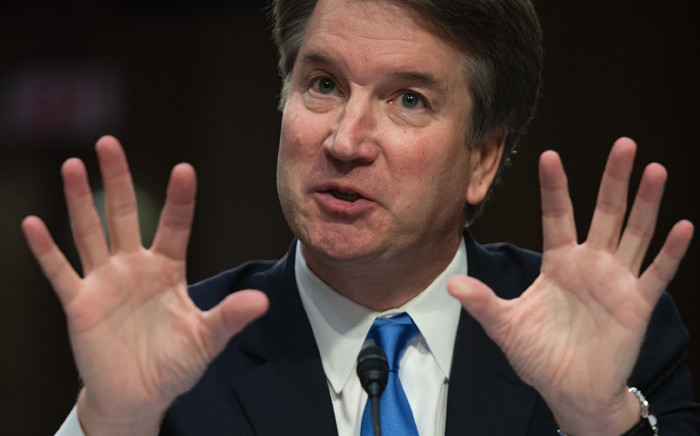 FILE: US Supreme Court nominee Brett Kavanaugh. Picture: AFP.