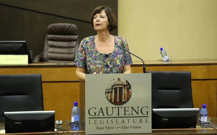 Gauteng Finance MEC Barbara Creecy. Picture: @BarbaraCreecyGP/Twitter