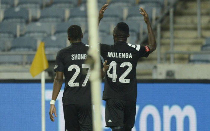 Orlando Pirates players celebrate a goal. Picture: Twitter/@orlandopirates