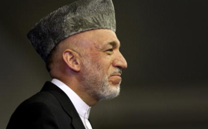 Afghan President Hamid Karzai. Picture: AFP.