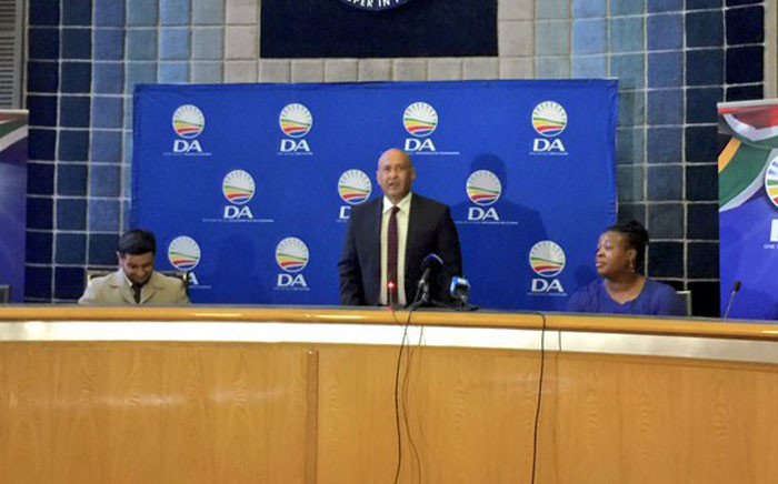 The DA in Gauteng has announced Ghaleb Cachalia, son of struggle stalwarts Amina and Yusuf Cachalia, as it's mayoral candidate in Ekurhuleni. Picture: Emily Corke/EWN