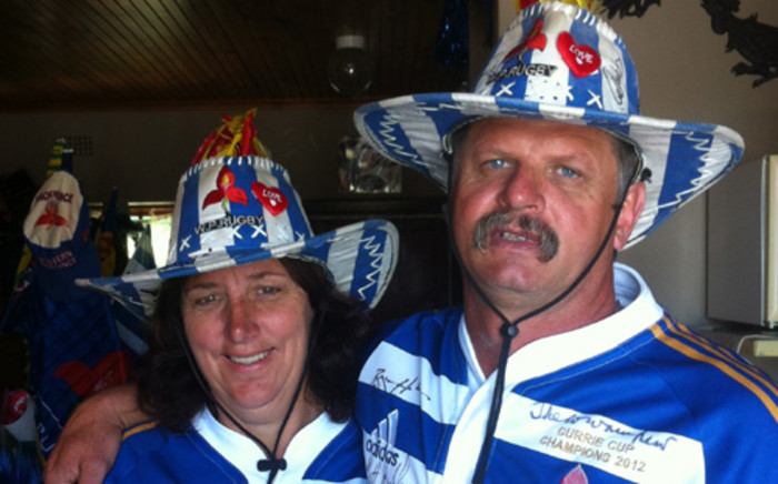 Kobus and Riette Koegelenberg will be attending their 100th match at Newlands this weekend. Picture: Supplied.
