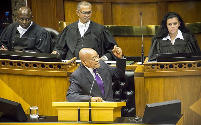 FILE: President Jacob Zuma. Picture:Thomas Holder/EWN.