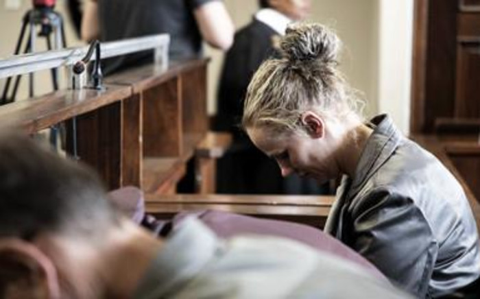 FILE: Tharina Human, one of four people accused of kidnapping a six-year-old girl outside her school in Vanderbijlpark, appears in court on 11 October 2019. Picture: EWN