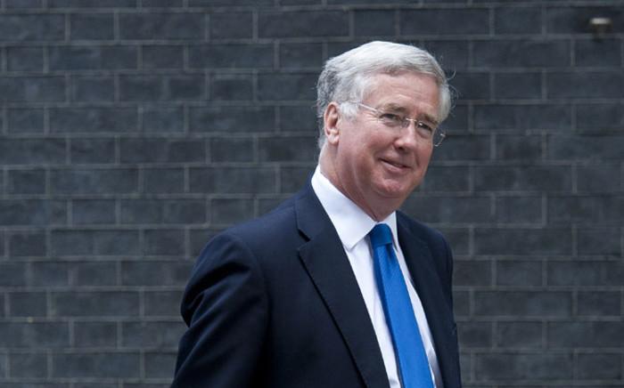 Britain's Defence Secretary Michael Fallon. Picture: EPA.