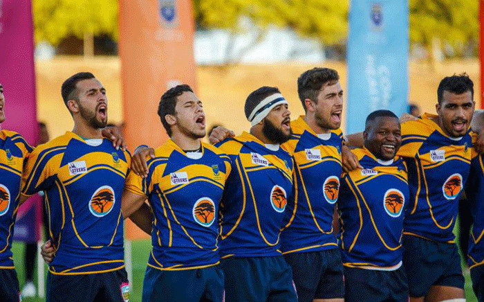 Members of the FNB UWC team. Picture: varsitycup.co.za