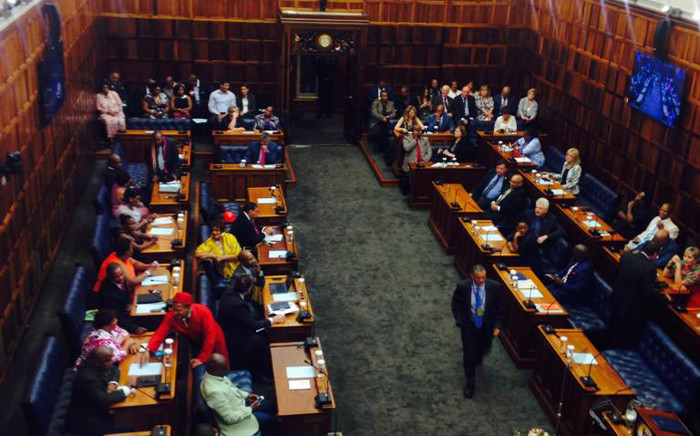 The Western Cape Legislature ahead of Premier Helen Zille's State of Province Address on 20 February 2015. Picture: Shamiela Fisher/EWN.
