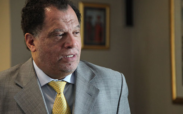 Newly elected SAFA President Danny Jordaan chats to EWN about his plans for the football body. Picture: Vumani Mkhize/EWN.