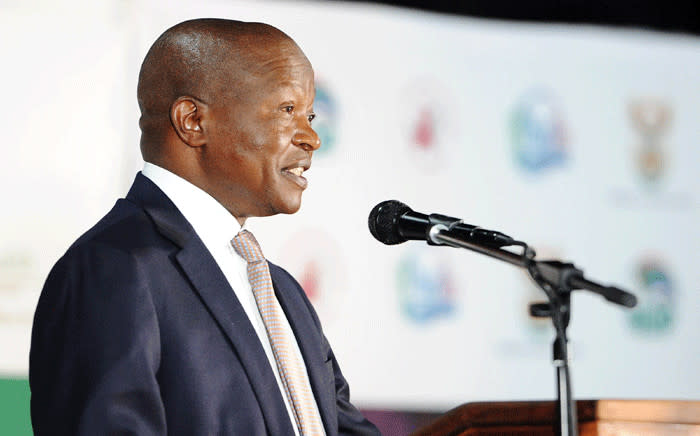 FILE: Deputy President David Mabuza delivering closing remarks at the Presidential Health Summit at the Birchwood Hotel in Boksburg, Gauteng on 20 October 2018. Picture: GCIS.
