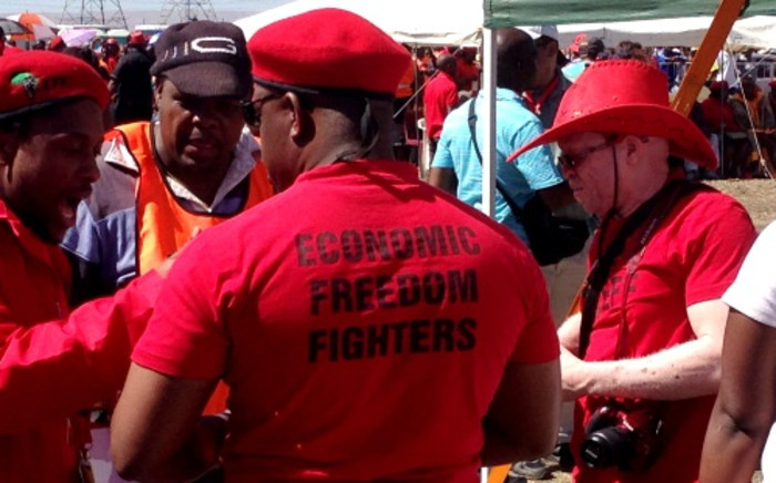 FILE: The EFF in the Western Cape say land invasions in Khayelitsha will continue despite warnings from authorities. Picure: EWN