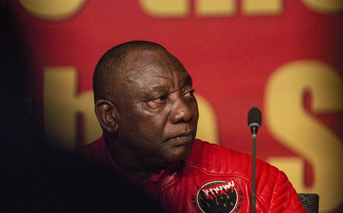 FILE: President Cyril Ramaphosa addresses the Cosatu Congress 2018 at Gallagher Convention Centre in Midrand. Picture: Kayleen Morgan/EWN