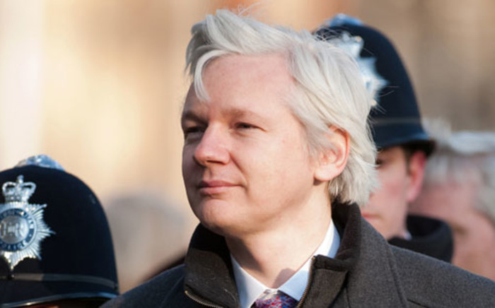 Founder of the site Wikileaks, Julian Assange, who published the classified information given by Bradely Manning. Picture: AFP
