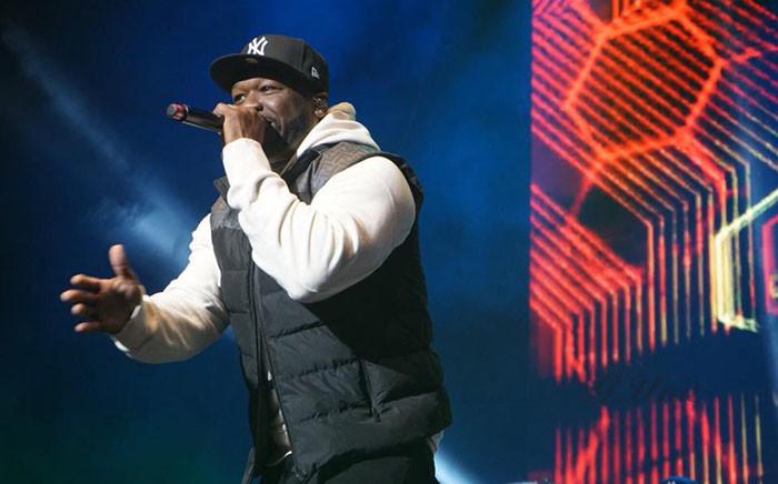 Rapper 50 Cent. Picture: @50cent/Facebook.com