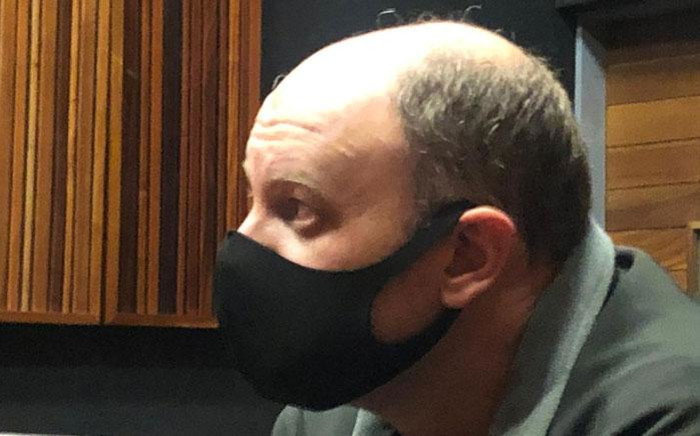 Former VBS Mutual Bank chief financial officer Philip Truter appears in the Palm Ridge Commercial Crimes Court on 6 July 2020. Picture: EWN