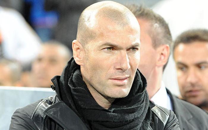 FILE: Real Madrid coach Zinedine Zidane. Picture: AFP