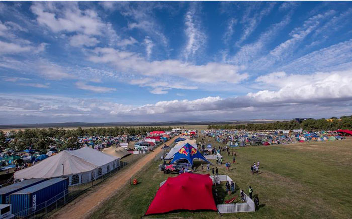A camp site at the 2016 Rocking the Daisies music festival. Picture: Rocking the Daisies/Facebook.