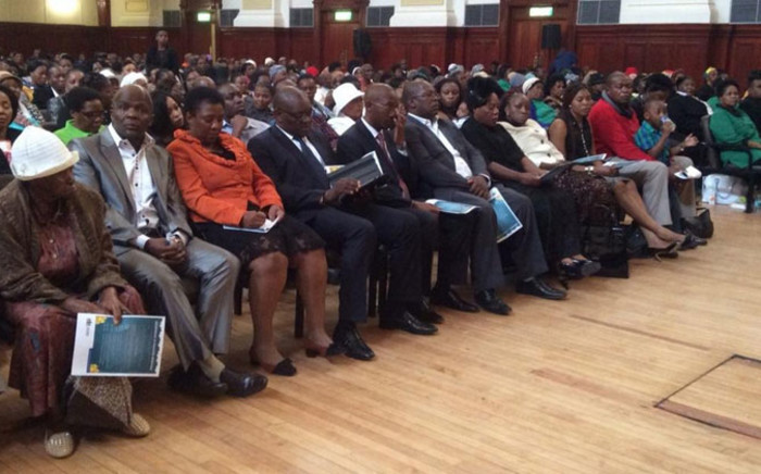 FILE: Families and friends of 22 victims from Johannesburg who died in the Nigeria church collapse over two months ago have played tribute to their loved ones in moving ceremony on 20 November 2014. Picture: Thando Kubheka/EWN