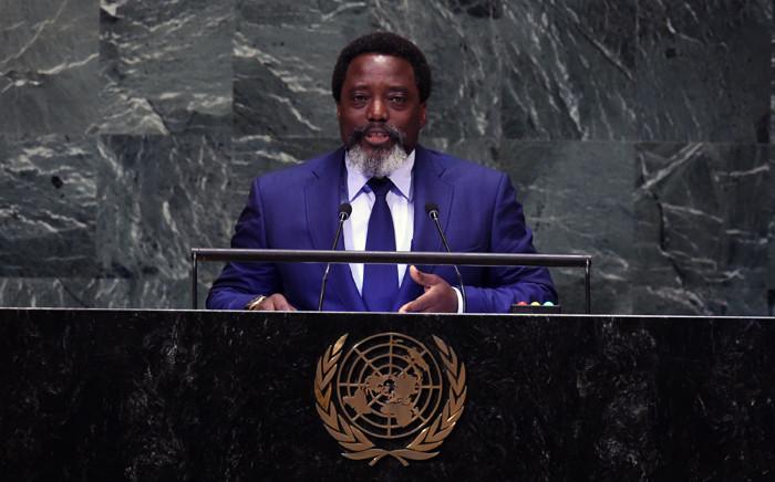 FILE: Joseph Kabila Kabange, President of the Democratic Republic of the Congo. Picture: AFP.