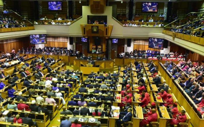 The National Assembly during the 2019 State of the Nation Address on 7 February 2019. Picture: GCIS