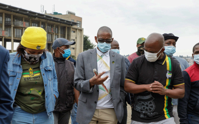 ANC secretary general Ace Magashule led Gauteng's celebrations on the life and times of struggle icon Charlotte Maxeke on 7 March 2021 in Soweto. Picture: Boikhutso Ntsoko/Eyewitness News.