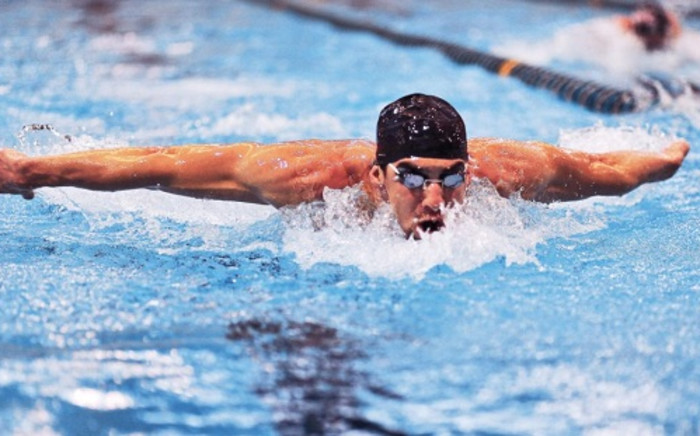 Decorated Olympic swimmer Michael Phelps. Picture: Facebook.