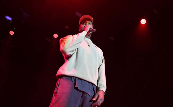 FILE: Kanye West onstage at Adidas Creates 747 Warehouse St, an event in basketball culture, on 17 February 2018 in Los Angeles. Picture: AFP