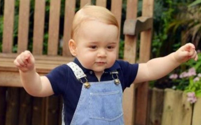 FILE: Prince George marks his first birthday celebrations. Picture: AFP.