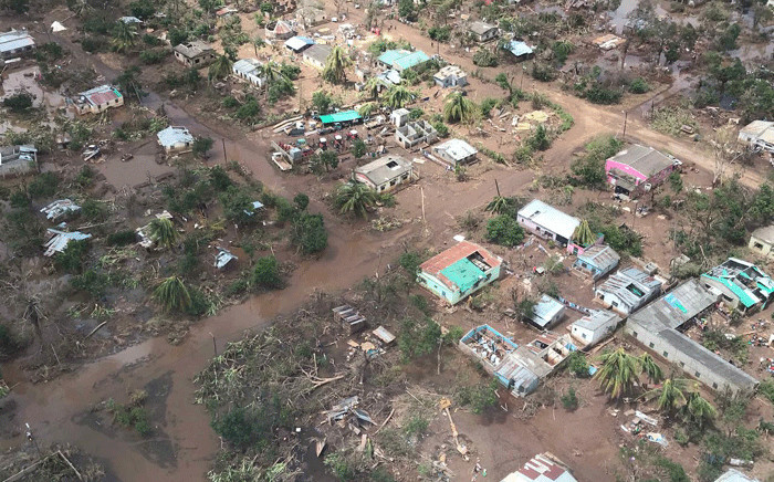 FILE: A village just outside Beira which has been flooded after Cyclone Idai hit Mozambique. Picture: Christa Eybers/EWN.
