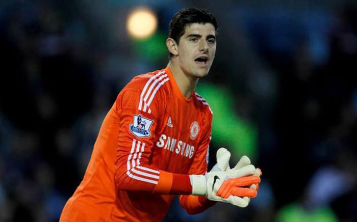 Chelsea goalkeeper Thibaut Courtois. Picture: Facebook.