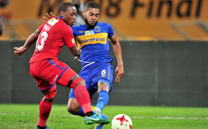 Cape Town City vs SuperSport United in the MTN8 final on Sunday 2 September 2017 at the Moses Mabhida Stadium in Durban. Picture: Twitter/@SuperSportFC