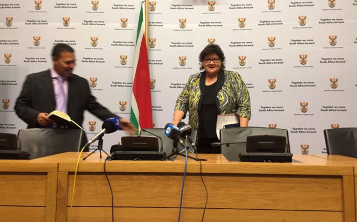 FILE: Minister of Public Enterprises Lynne Brown. Picture: Xolani Koyana/EWN