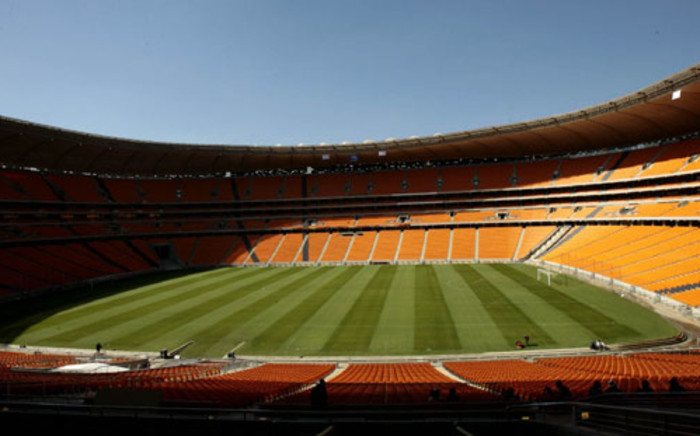 Management at the National Stadium say the pitch is totally playable ahead of the 2013 Afcon final on Sunday. Picture: Werner Beukes/SAPA