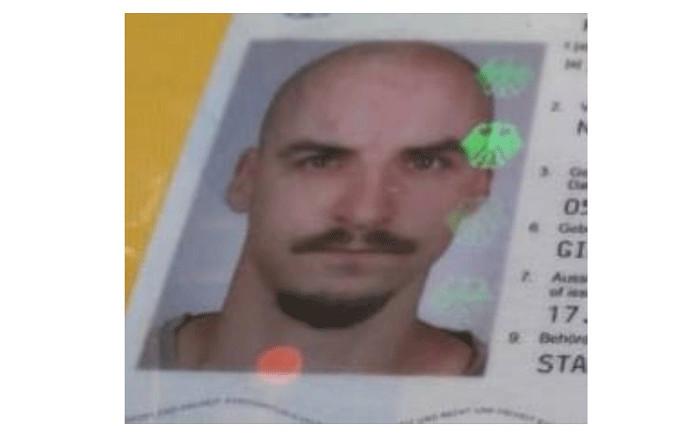 Missing German tourist Niels Szenbek. Picture: facebook.com