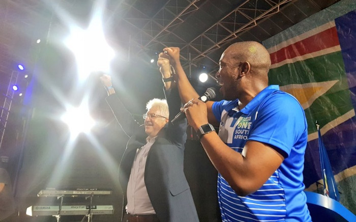 Mmusi Maimane addressed DA supporters in Cape Town at the launch of the party's Provincial Action Plan rally. Picture: Democratic Alliance.