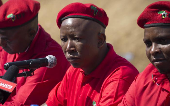 EFF leader Julius Malema. Picture: Christa Eybers/EWN