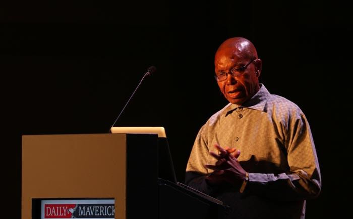 Press Council executive director and veteran journalist Joe Thloloe speaks at The Gathering: Media Edition at the Cape Town International Convention Centre on 3 August 2017. Picture:  Bertram Malgas/EWN.