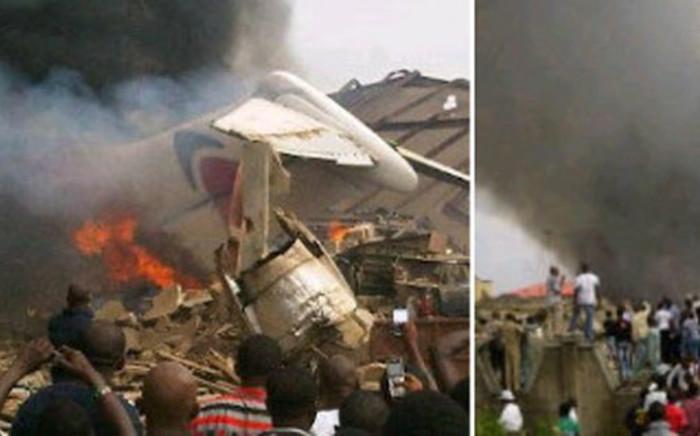 Plane crash. Picture: Supplied