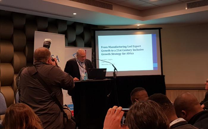 Economist professor Joe Stiglitz. Picture: @econrsa/Twitter.